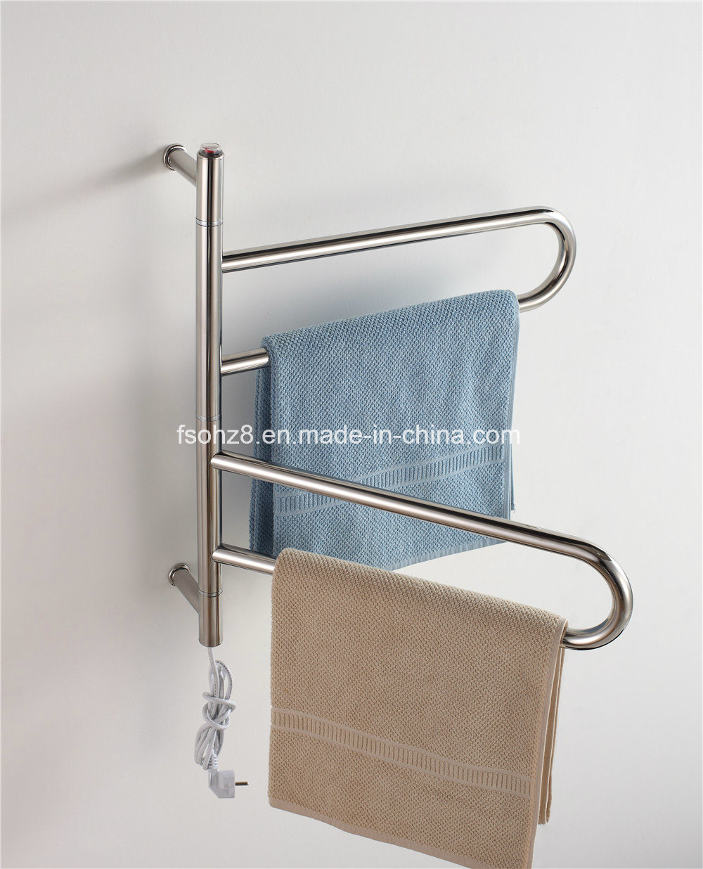 More Style Options Electric Removable Towel Warmer Rack for Hotel