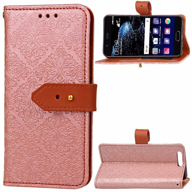 Luxury Leather Case for Huawei P10 Plus