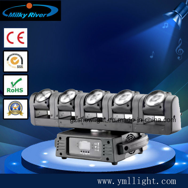 DMX DJ Spider Moving Head Light 6PCS 12W RGBW LED Wedding Move Light