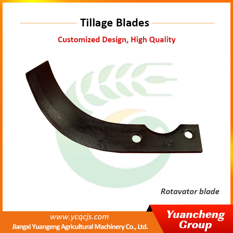 Agriculture Machinery Equipment Straw Chopper Rotavator Blades
