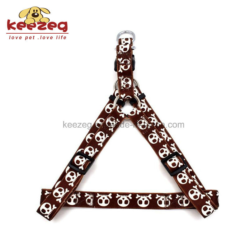 Nylon Transfer Printing Dog Harness/ Collar &Leashes Separate Matching (KC0107)