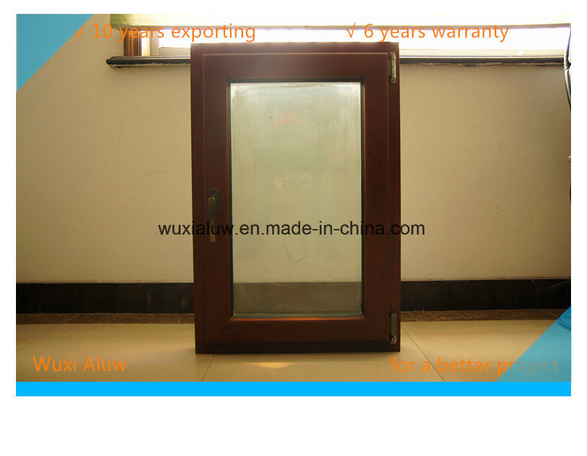 Double Color Thermal Break Aluminum Window