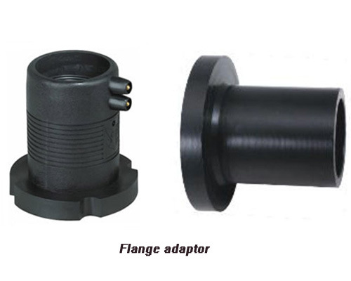 China hdpe pipe fittings flange adaptor