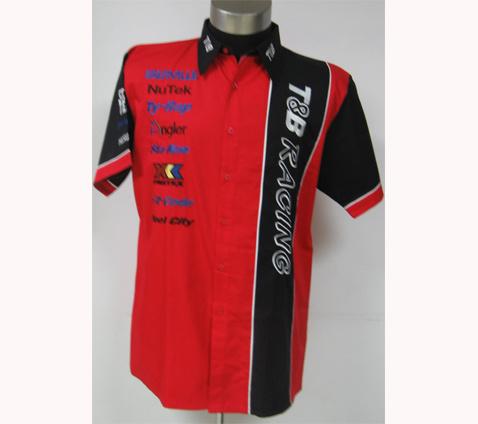 Auto Racing Clothing  Babies on Racing Shirt  S0603    China Shirt  Promotional Shirt