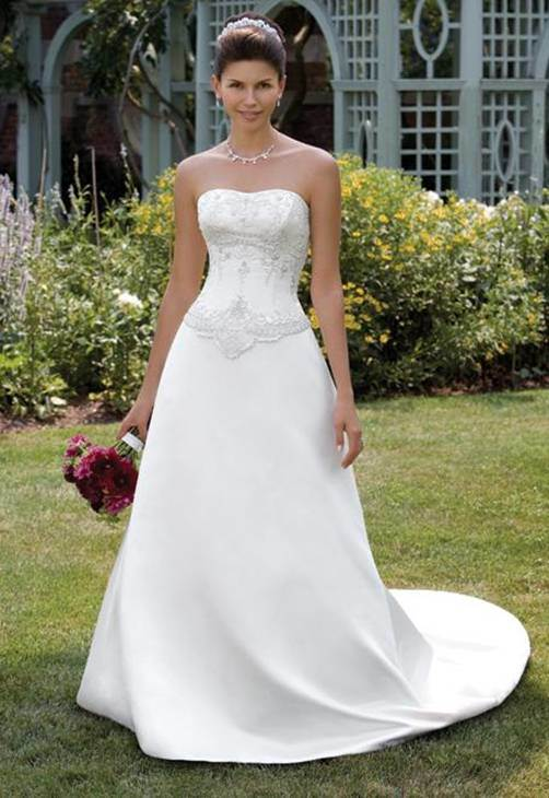 china a line wedding dress al 0015 china wedding dress