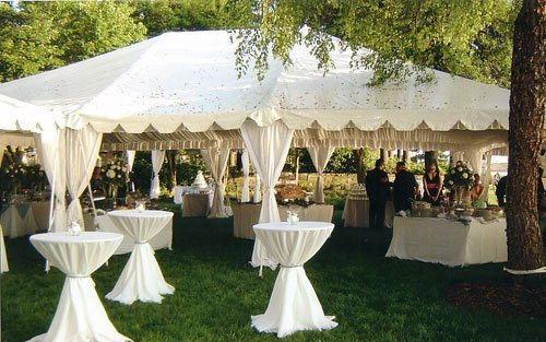 lime spring farm wedding photos tent