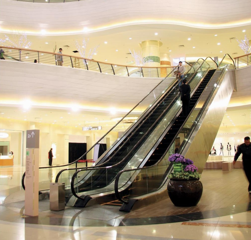 Stainless Steel Escalators : China escalator with stainless steel cladding photos