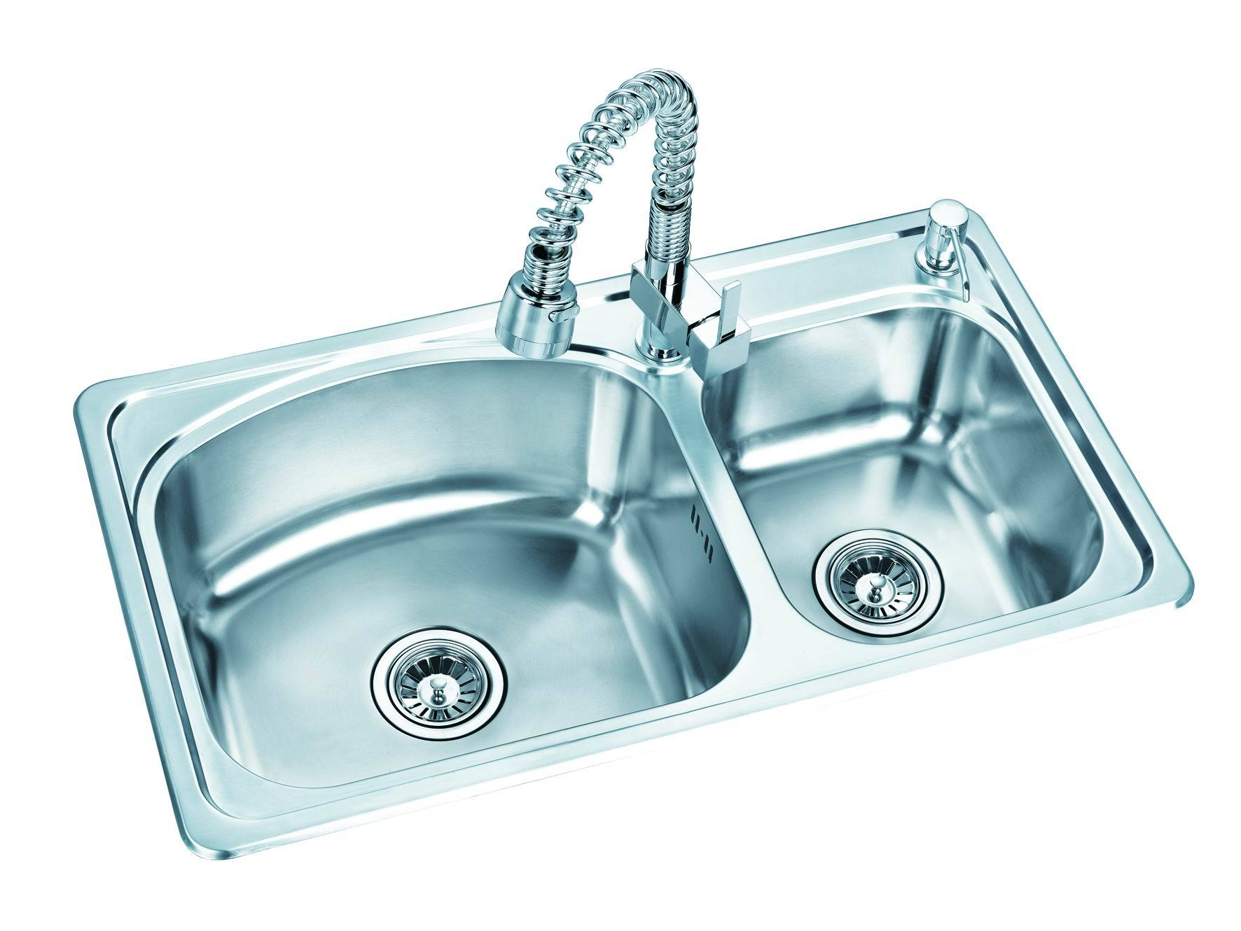 Stainless Steel Sink (KS-002) - China Sink, &kitchen sink
