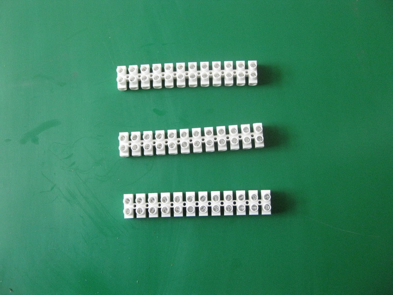 12 Way PA H Type Plastic Terminal Strip Connector
