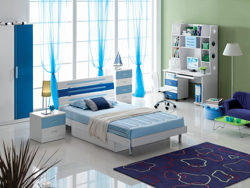 China kids bedroom set mzl 8060 china kids furniture for Youth bedroom furniture sets