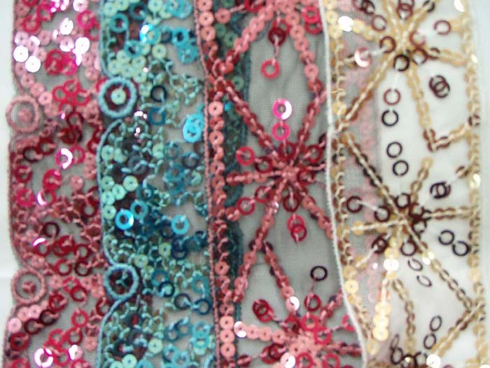 Sequin Cuff Bracelet - Martha Stewart Crafts