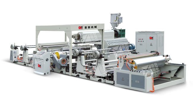 High-Speed Extrusion Film Laminating Machine Unit (SJFM800-1800)
