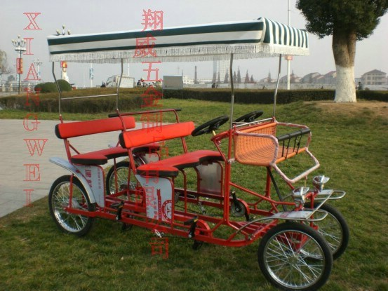 http://image.made-in-china.com/2f0j00DenTQuLtIPoH/Four-Wheel-Surrey-Bike-XW-SH002-.jpg