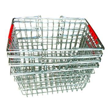 Wire Mesh Shopping Basket (DS-43A)