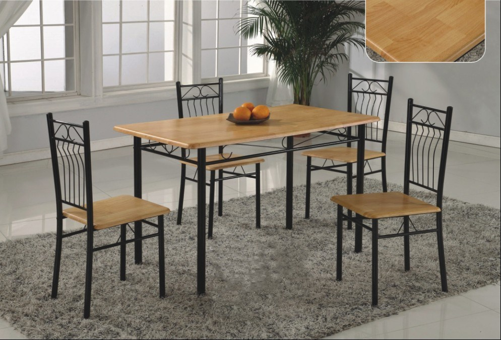 metal dining room sets | Dining Table: Metal Dining Table Set