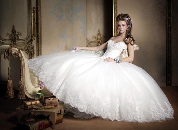 زیباترین مدل لباس عروس های ۲۰۰۹