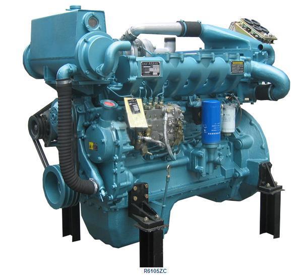 China Marine Diesel Engine (R6105ZC)