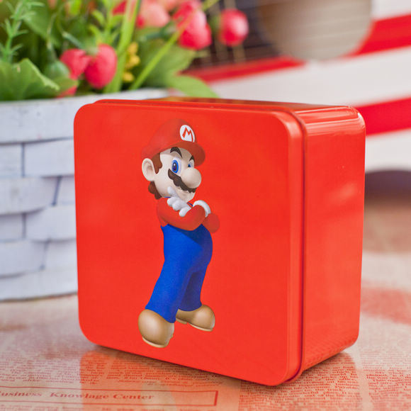 Hot Sale Square Metal Tin