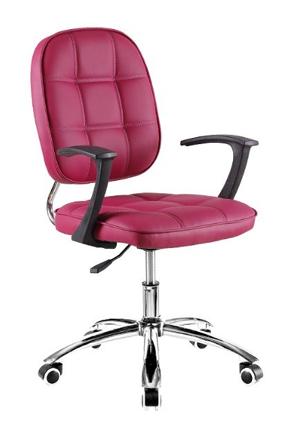 China pink cute modern design computer worker office chair a 01