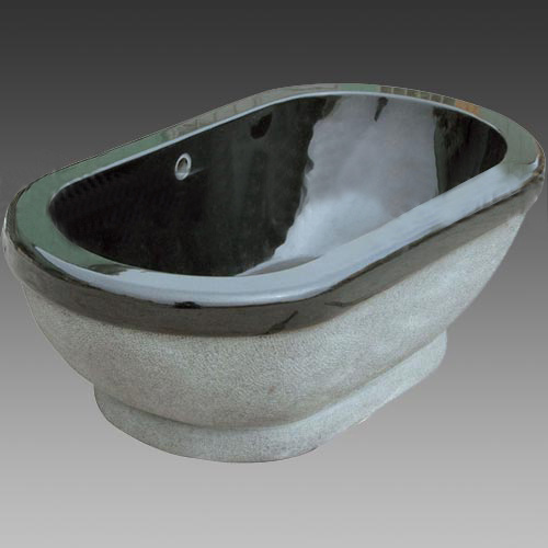 China Absolute Black Granite Bathtub - China granite-bathtub, Sanitary ware