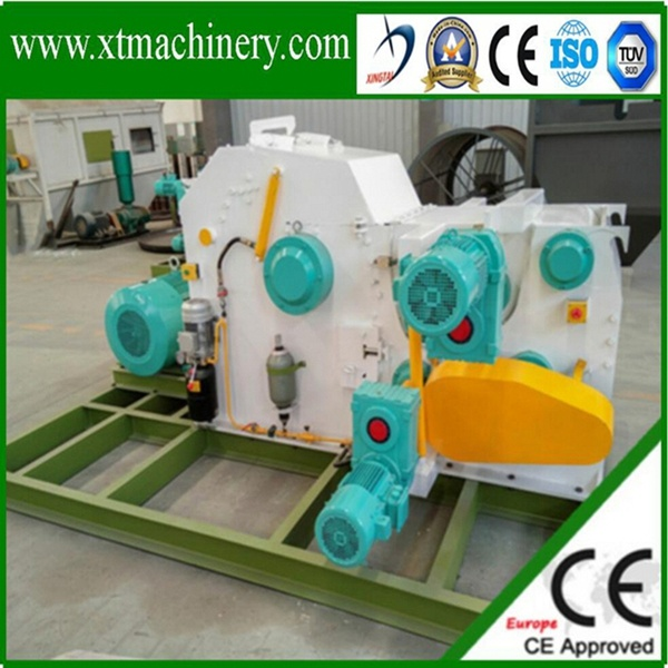 High Quality, Siemens Engine, 2 Blades Wood Chipper for Fuel Boiler