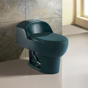 Sanitary Ware-One Piece Floor Mounted Colorfull Toilet (TT1005-Color)