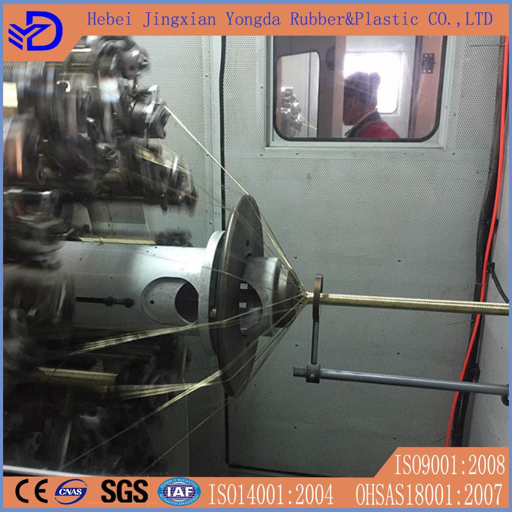 1 1/2 Inch High Pressure Flexible Hydraulic Rubber Hose
