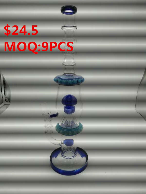 Newest Design Glass Smoking Water Pipe with Wholesale Prices