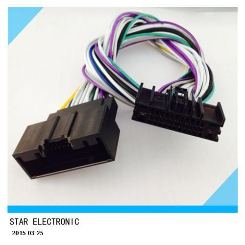 manufacture factory high quality ford 24 pin male and female manufacture factory high quality ford 24 pin male and female iso wire harness