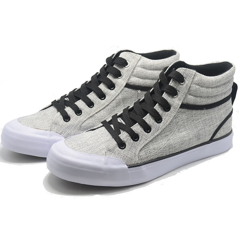 New Basil Classical Canvas Vulcanization High Top Quality Leisure Men Shoes