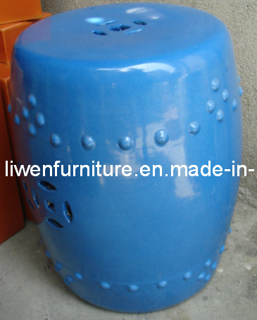 Ceramic Garden Stool (LW374)