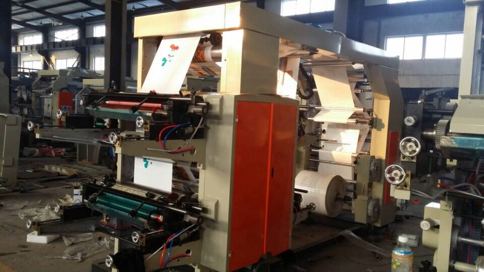 Six Colour Flexographic Printing Machine (YT-6600 / 6800 / 61000)