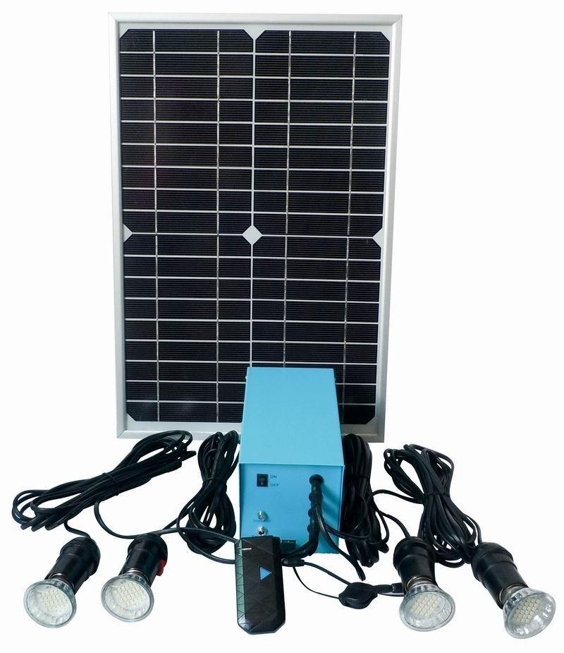 Solar Home Lighting: China Portable Solar Home Light System