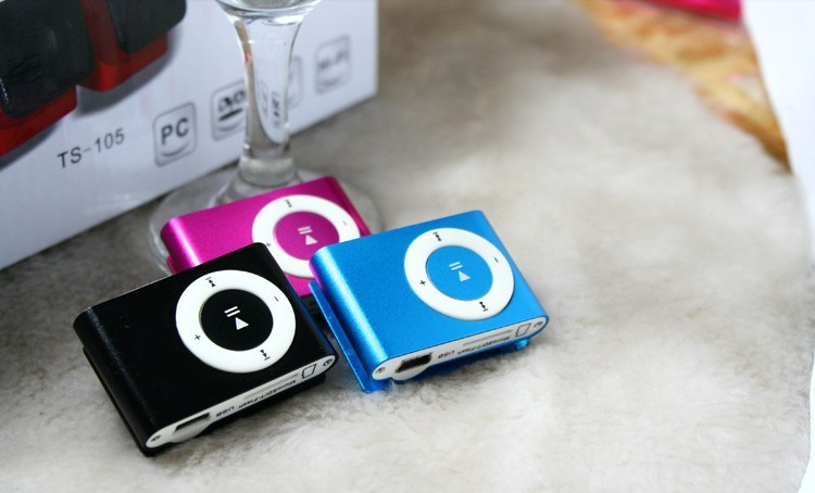 Mini Clip MP3 Player Portable MP3 Support TF Card/High Quality Digital Player Clip Mini MP3