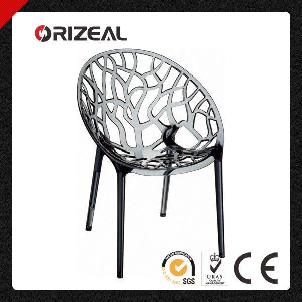 Replica Home Furniture Modern Designer Turkish Design PC Plastic Leisure Crystal Chair Oz-1189