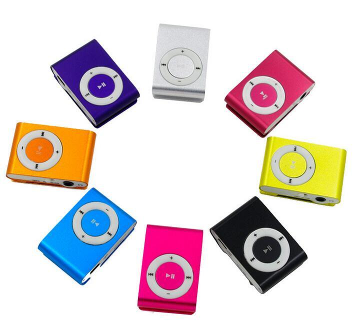 Mini Clip MP3 Player Portable MP3 Support TF Card/High Quality Digital Player Clip Mini MP3