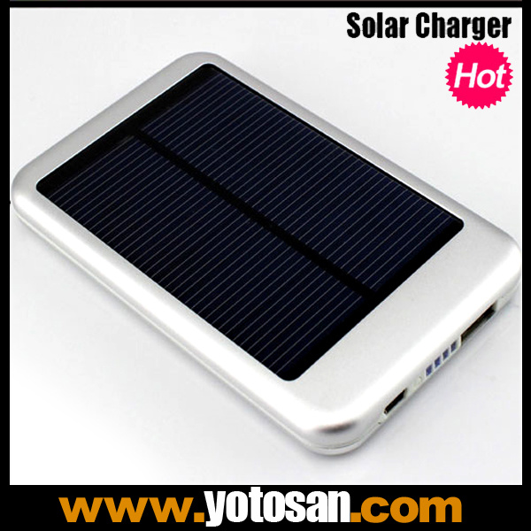 5000mAh Portable USB Solar Charger External Battery for Phone