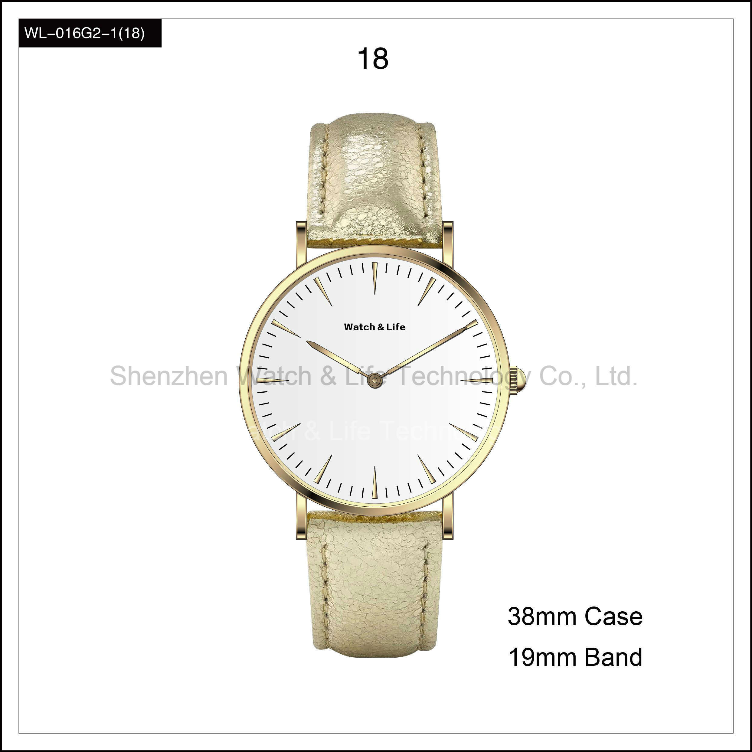 Promotion Fashion Simple Lady Watch Student Watch