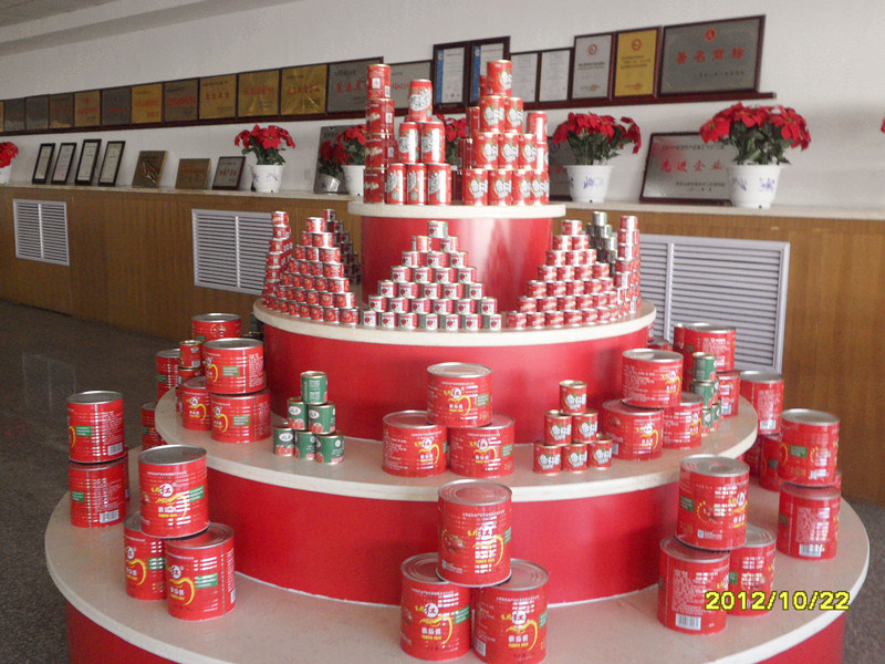 3000g 22%-24% Canned Tomato Paste