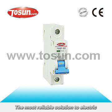 Patented Miniature Circuit Breaker with CB TUV CE Certificate
