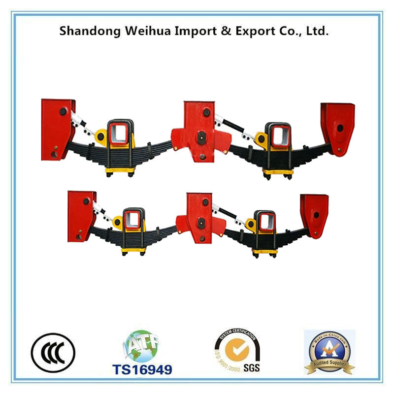 2 Axle American Type Semi Trailer Suspension with High Quality
