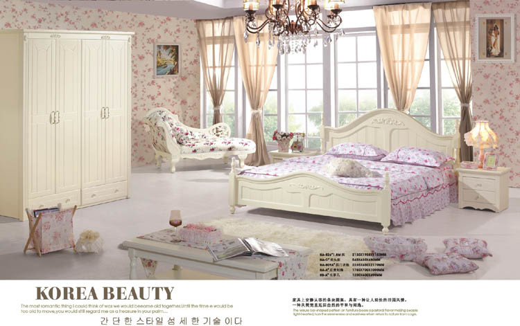 China Korean Bedroom Furniture Set Ha 826 Garderobe