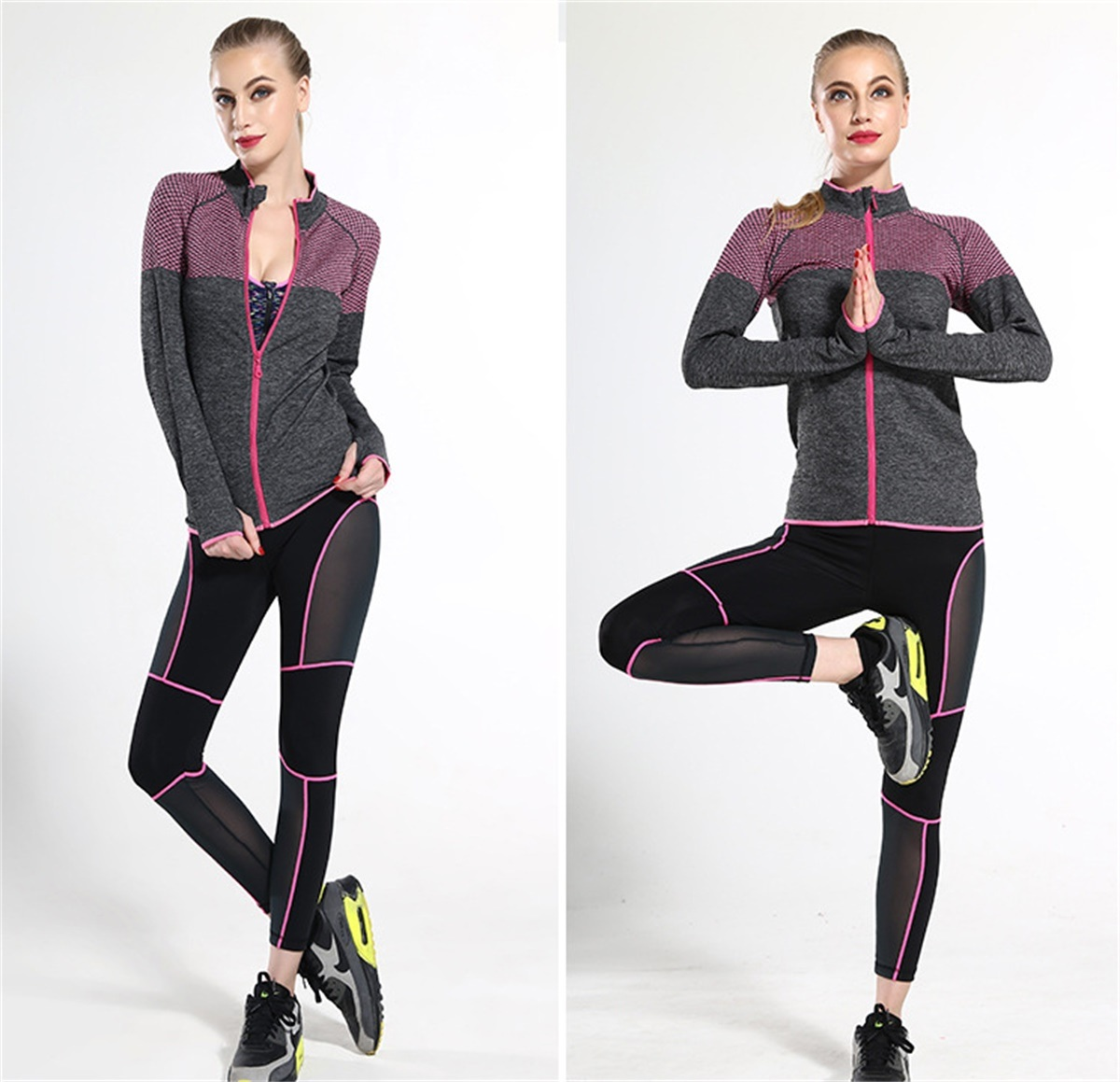 2017 Netting Yoga Sports Pants for Women Running Pants
