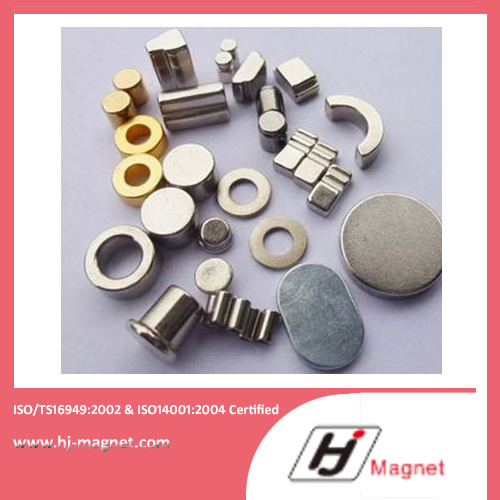 High N30-N35ah Ring Permanent NdFeB Neodymium Magnet for Motors and Industry