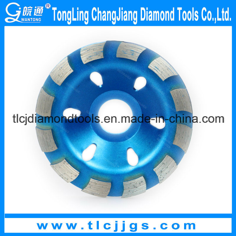Hot Pressed Turbo Cup Grinding Wheel
