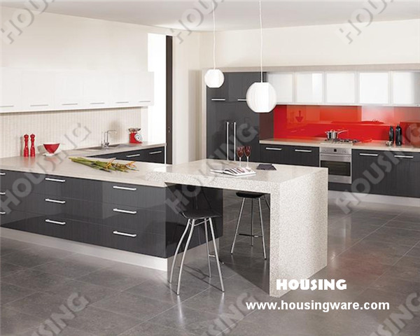 China International Design Lacquer Kitchen Cabinet High Gloss With Cabinet Do