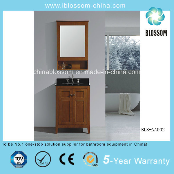 Hangzhou Sanitary Ware MDF Bathroom Cabinet Wooden Bathroom Furniture (BLS-NA002)