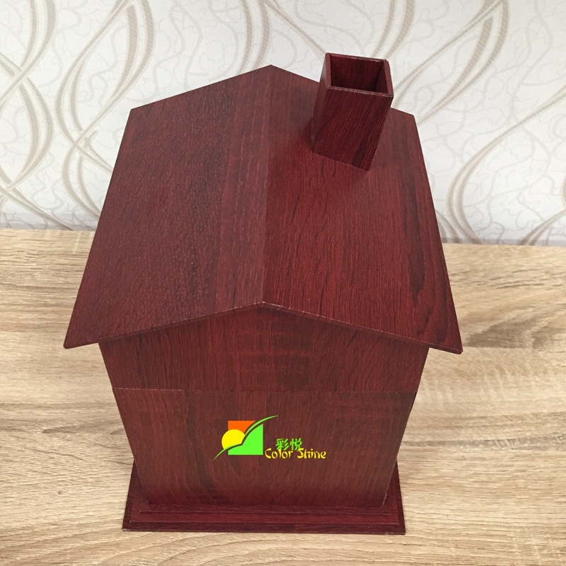 High Grade Wooden Like Jewellery Storage Paper Packing Gift Box