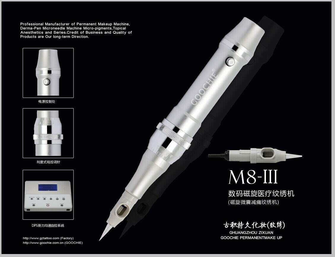 Goochie Stainless Steel Aluminium Material Digital Tattoo Machine (M8-III)