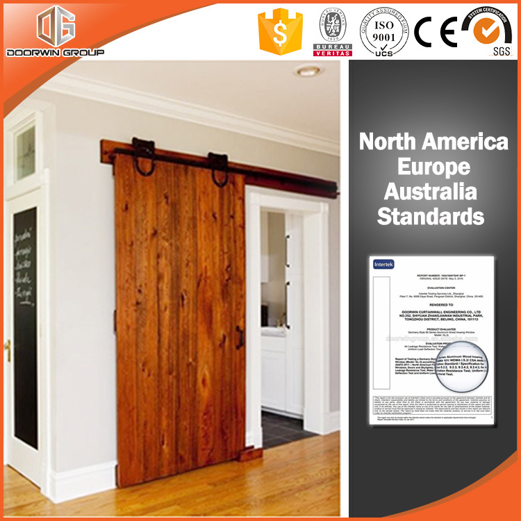 Japanese America Design Wood Barn Door